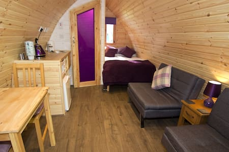 Luxury Glamping Pod near Fort William