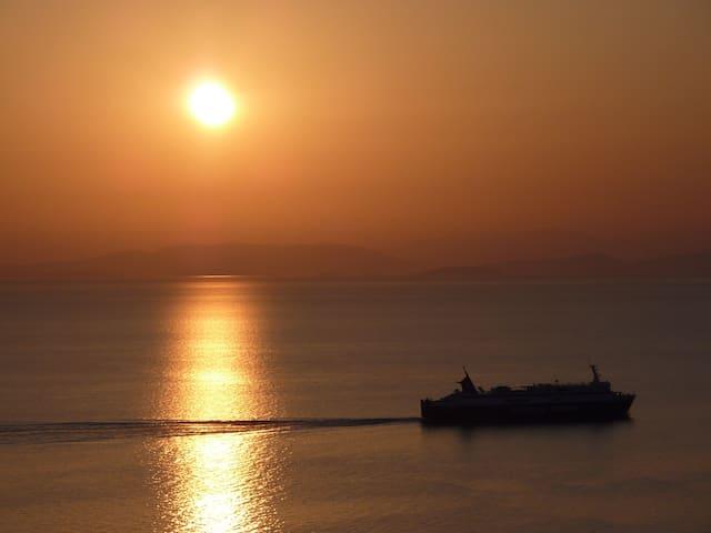 Gemütliches Haus am ionischen Meer