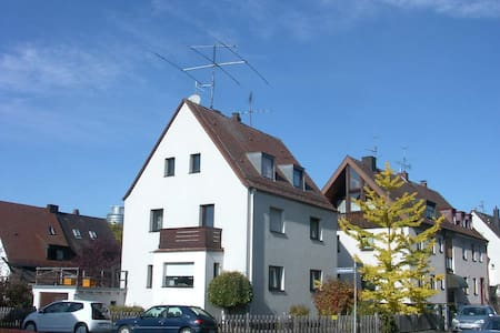Mansardenzimmer mit Bad  - Núremberg