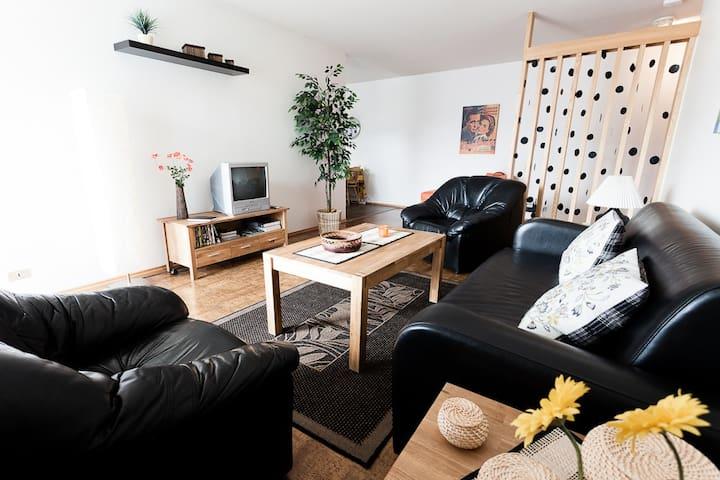 GentleSpace: Fjarðarstræti, 2 twin beds & sofa-bed - Ísafjörður - Lägenhet
