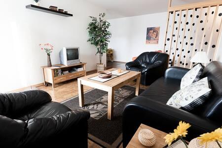 GentleSpace: Fjarðarstræti, 2 twin beds & sofa-bed - Ísafjörður