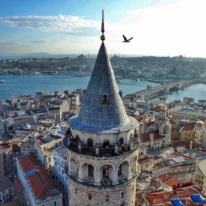 No Better view of Istanbul. Galata Tower