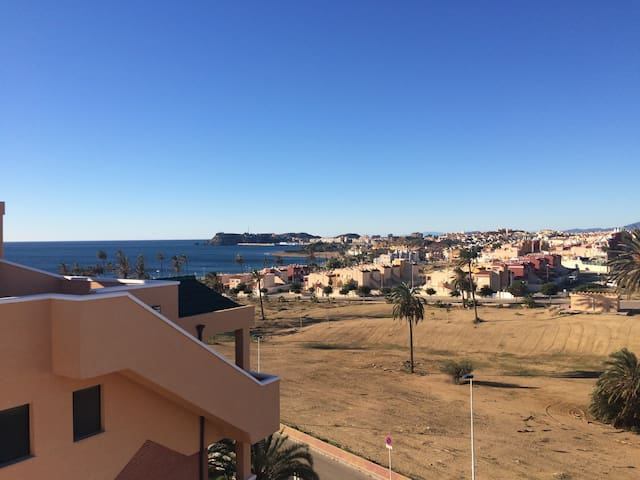 Penthouse, big private roof terrace - Puerto de Mazarrón