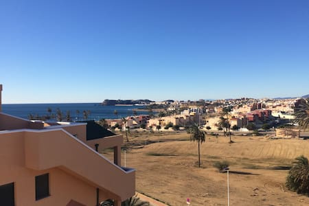 Penthouse, big private roof terrace - Puerto de Mazarrón - Apartament