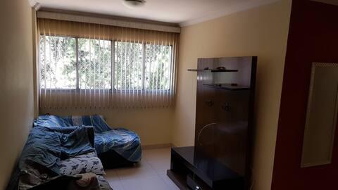 Apartamento completo e mobiliado (até 4 pessoas)