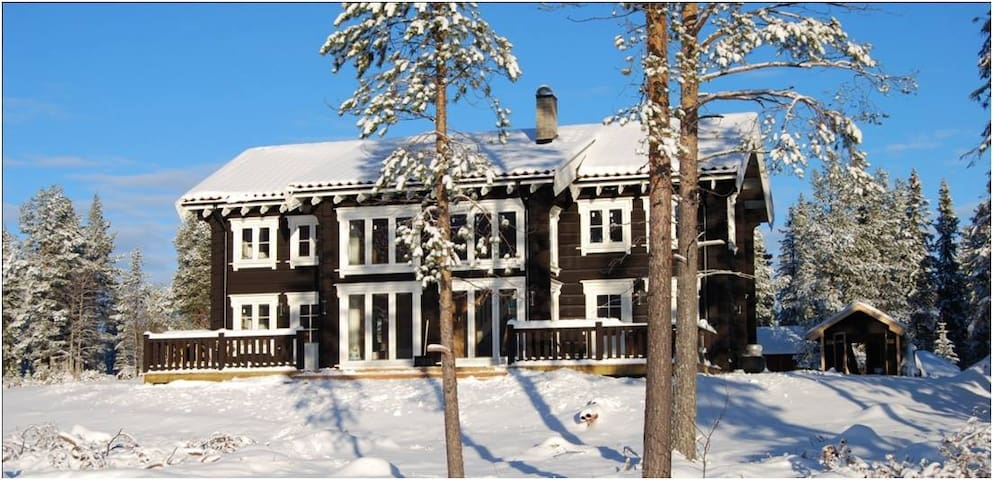 Klövsjö private Lodge -  By lake and Skiing
