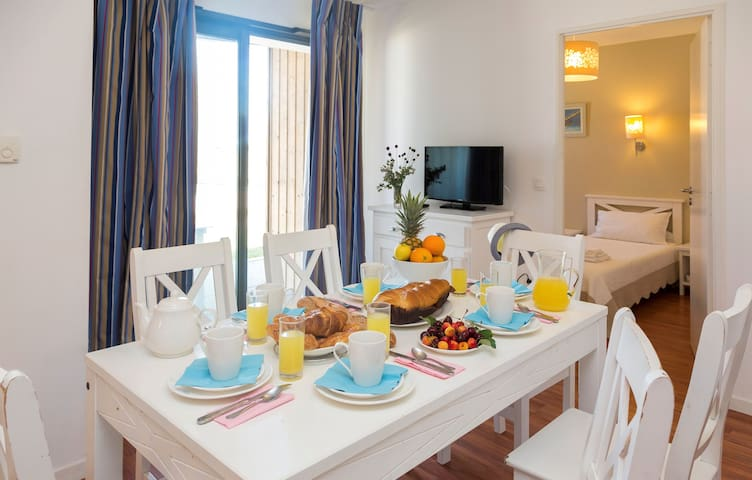 Have your meals together as a group in the lovely dining area.