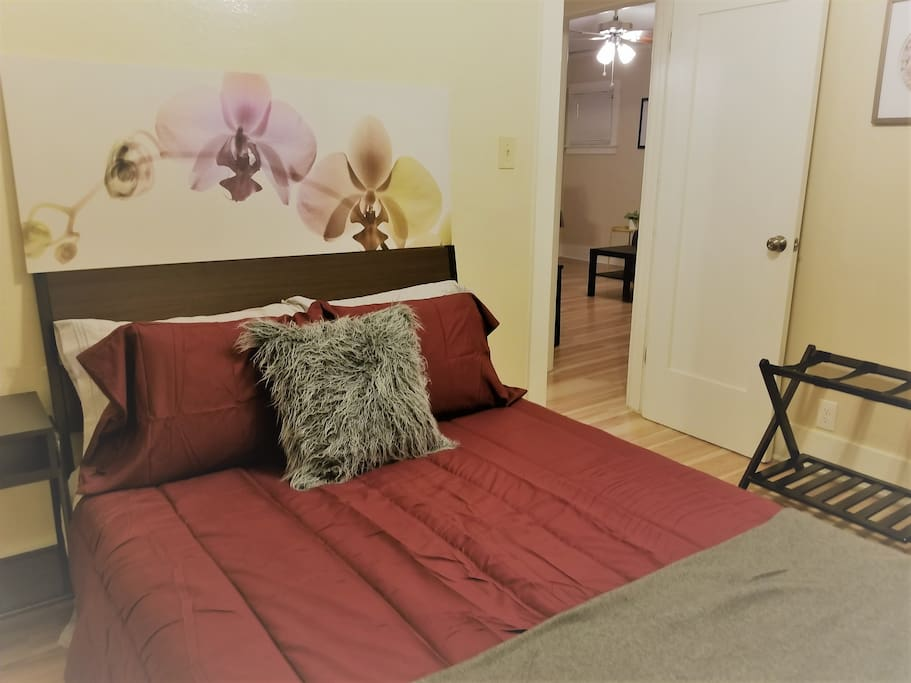 Full size Bed in Bedroom 1