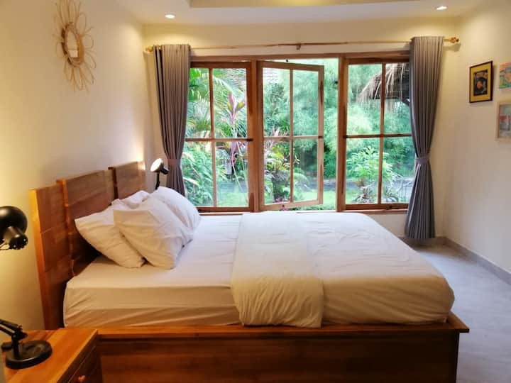 Tropica House 2 minutes from Ubud center