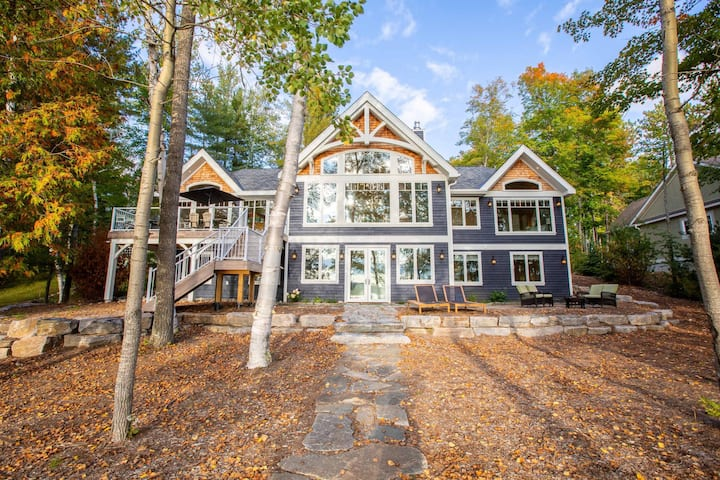 Seabreeze on Lake of Bays Fabulous Sunsets at a brand new cottage!
