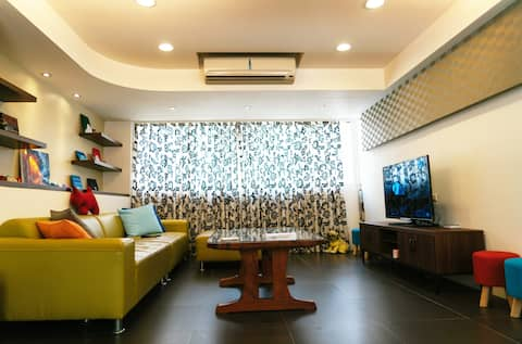 New spacious Apartment Near MRT-近永安市場捷運寬敞新房