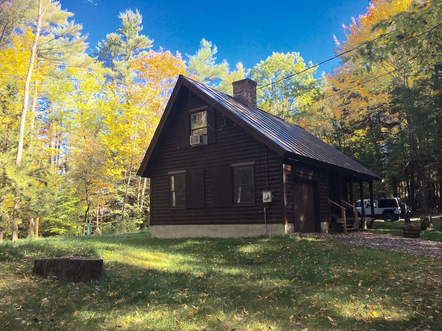 Vermont Log Guest Home Close To Dartmouth Houses For