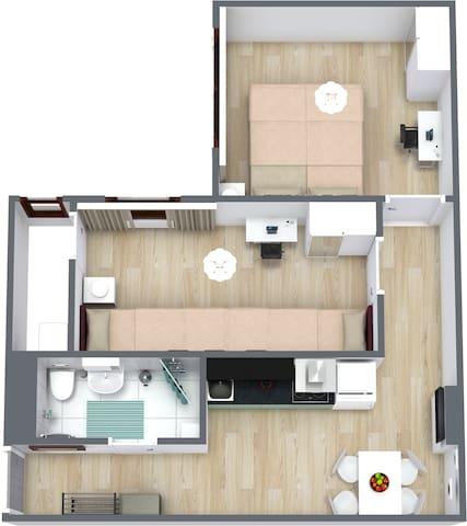 2Rooms flat in quiet neighborhood/Spandau (22)