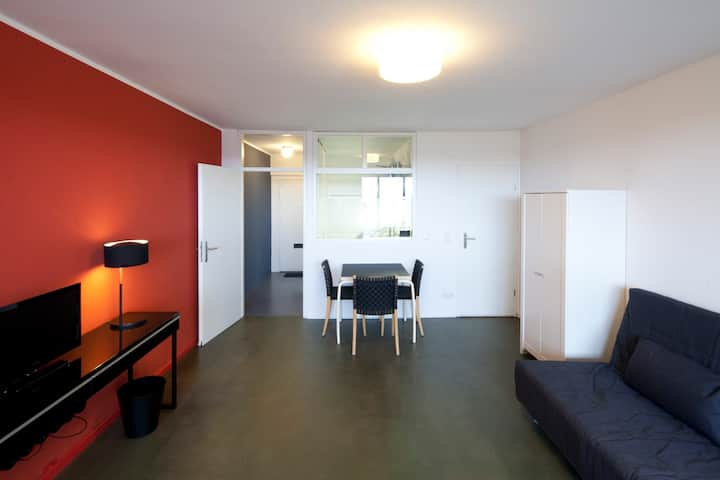 Furnished apartment Corbusier house