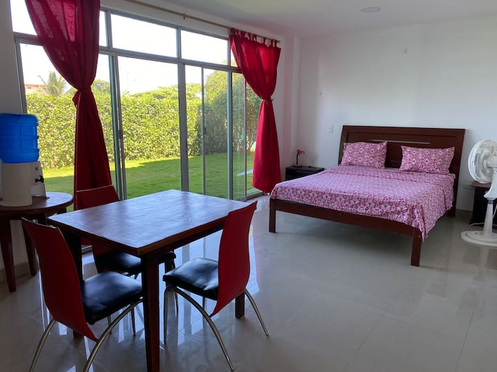 Gorgeous new suite in center of Canoa