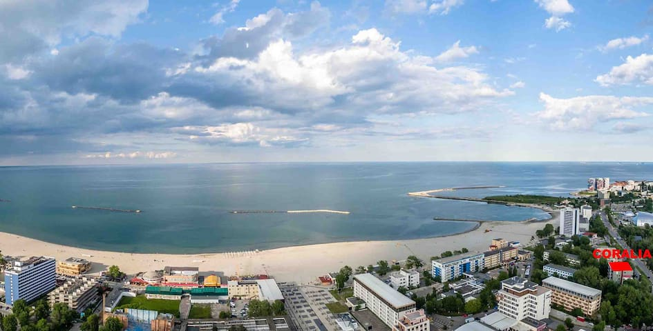 Coralia Apartment, Family 1Friendly8 in Mamaia