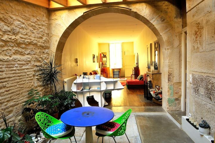 A spacious and original loft in the heart of Dijon