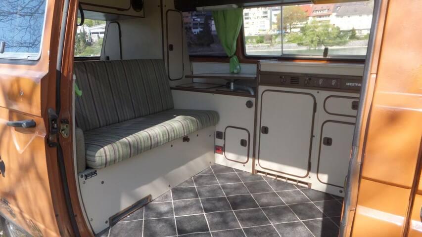 Volkswagen Westfalia Camping Van Oldtimer