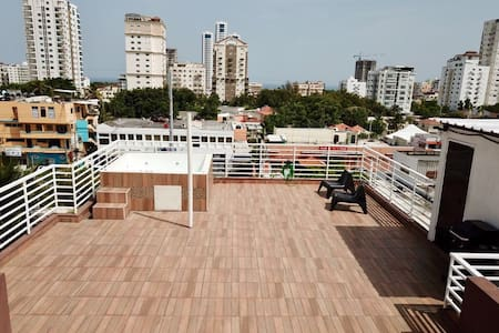 Private Roof Top Terrace Penthouse 360 Panoranic