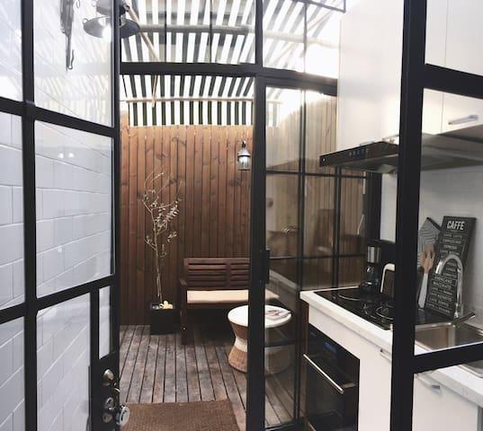 #花园下午茶#chic life可街拍的韩国时尚loft - 上海 - Loft