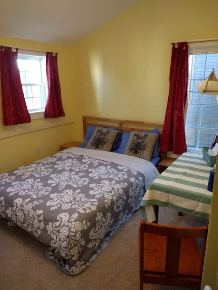 Bright East End Room
