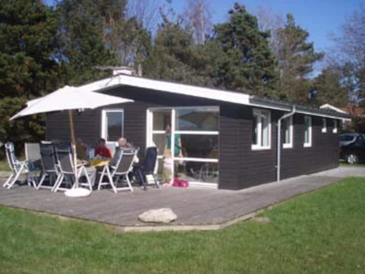 Holiday cabin with sea view - Oer