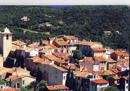 Charm apt village 10min St Tropez - Appartement