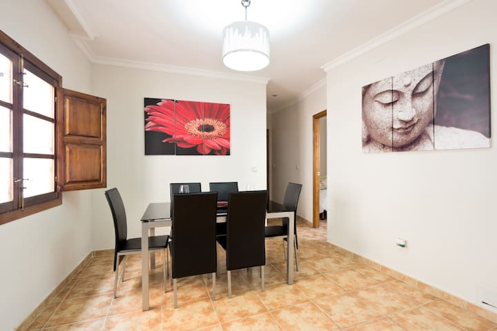 Penthouse in the heart of Granada
