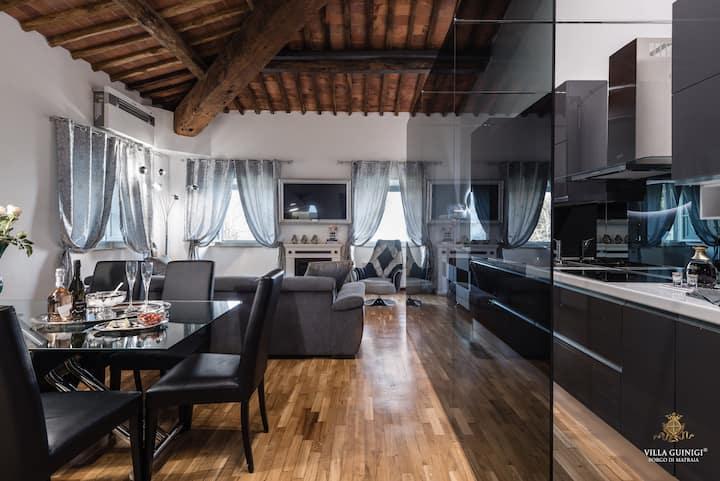 Villa Guinigi - Apartment Luxury 3 camere e vista