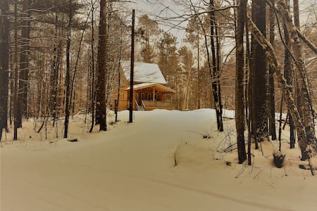 Wolf Song Cottage, cozy getaway - Wilmington - Stuga