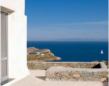 great view to all aegean sea for 4 - Syros - 別荘