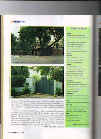 Quiet, Serene, Well Protected - New Delhi - Bungalow