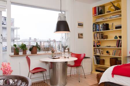 Vesterbro convenience with balcony - Copenhagen - Apartment