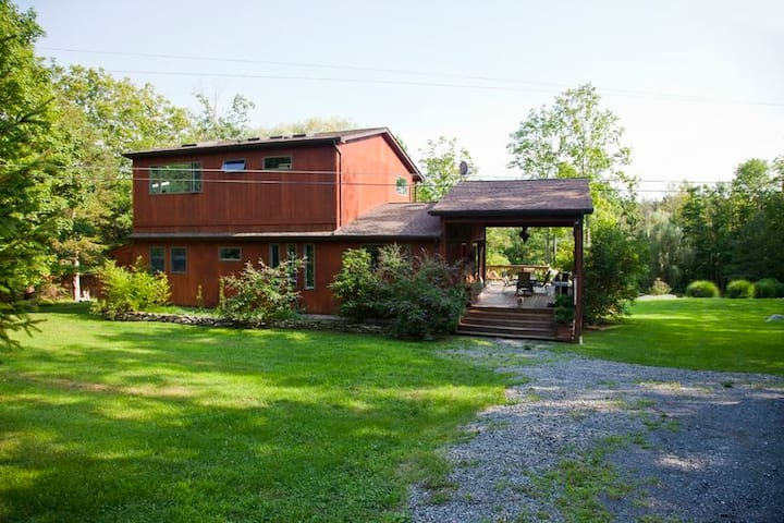 Modern Eclectic Mountain house - Gardiner - บ้าน