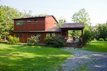 Modern Eclectic Mountain house - Gardiner - Casa