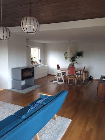 Sunny Retro house, garden, view. - Bergen - House