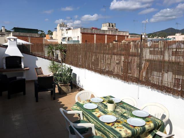 Duplex with terrace and parking in Arenys centre