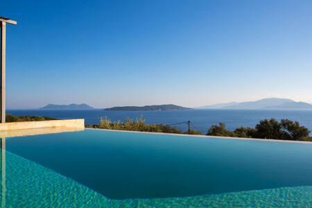 Villa Portokali, Amazing Sea View - Apollonioi