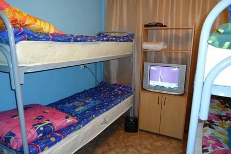 Комната на 4х чел в уютном хостеле -  Ekaterinburg - Asrama