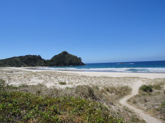 Best Beach Bach- Family Friendly - Great Barrier Island - House