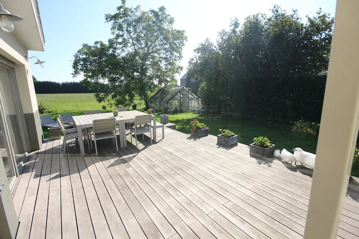 Charming house near Brussels 5 bedrooms garden - Hoeilaart - Hus