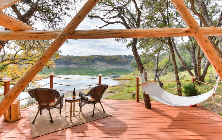 "Riverfront Resort Glamping ""Safari for the Soul"""