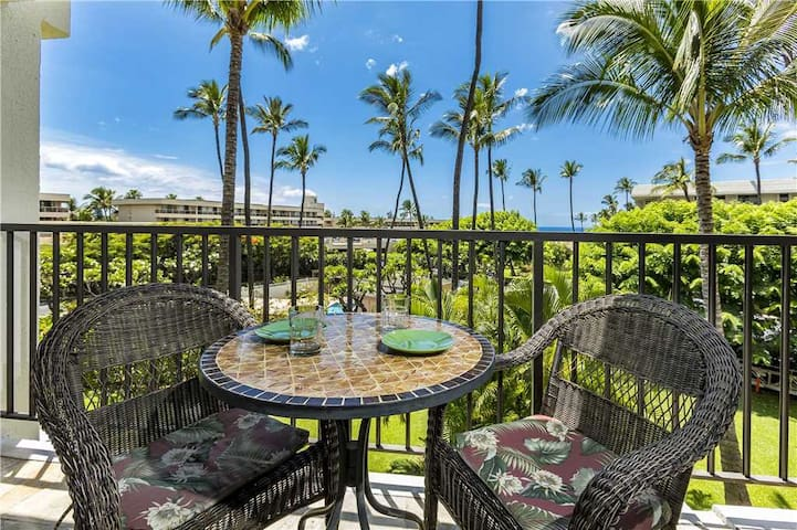 Kihei Akahi #D-208: Calm and Tranquil One Bedroom Garden View Condo in S. Kihei within walking distance to Kam II Beach Park