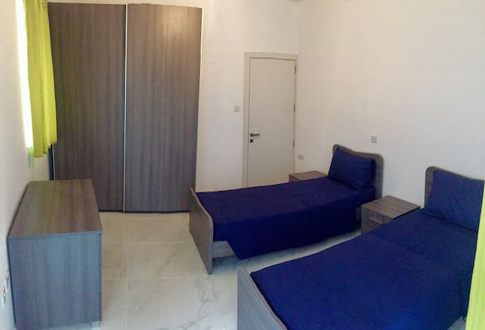 Private 2 Single beds room - Balzan - Flat
