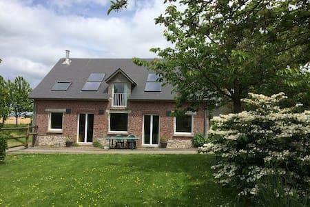 Gîte spacieux au calme  à Autretot pour 6 pers - Autretot - Haus