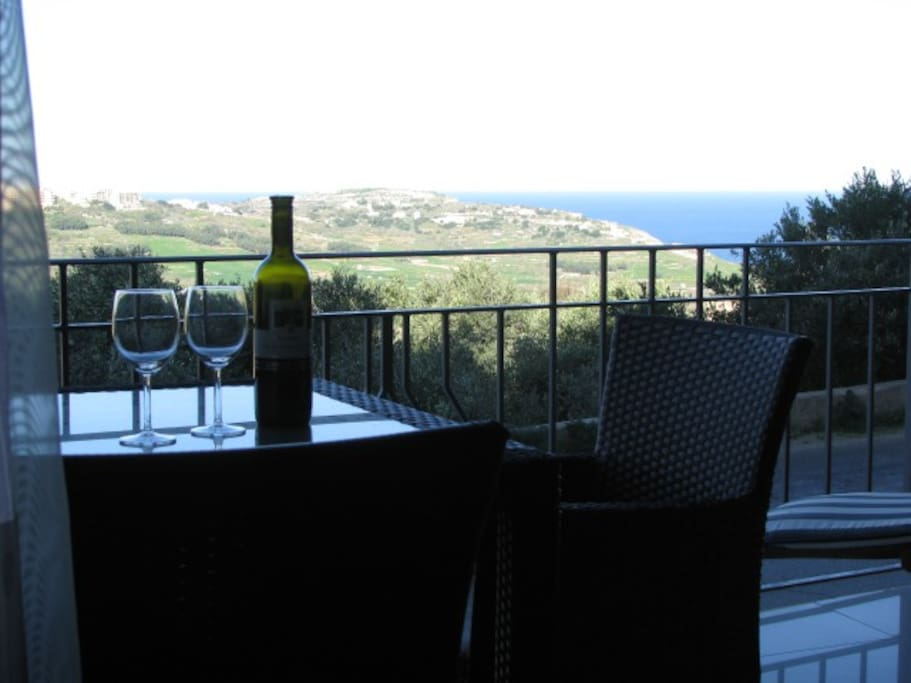 You can enjoy beautiful views from the terrace