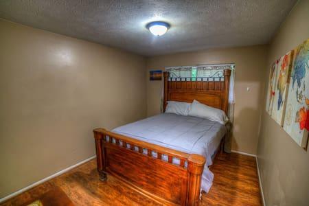 World Themed Queen Bedroom