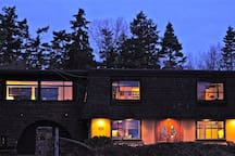 We are more than just a B&B  The Solaris Suite is the complete main floor of the Salish Sea Beach House with breathtaking ocean views!