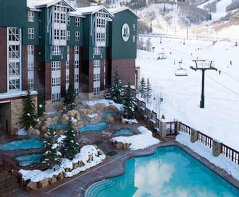 Park City Marriott- ski in and ski out