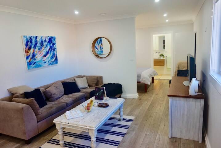 A quaint modern hideaway